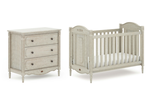 Grace Cot Bed 2 Piece Nursery Room Set
