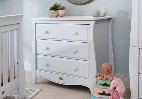 Sleigh 3 Drawer Chest Smart Assembly
