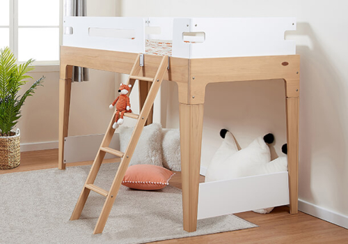 Tidy Single Loft Bed