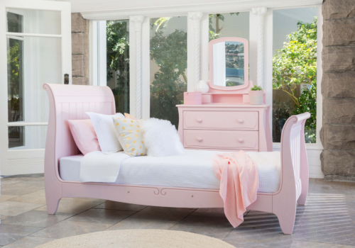 Sleigh King Single Bed