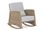 Crescent Rocker Chair