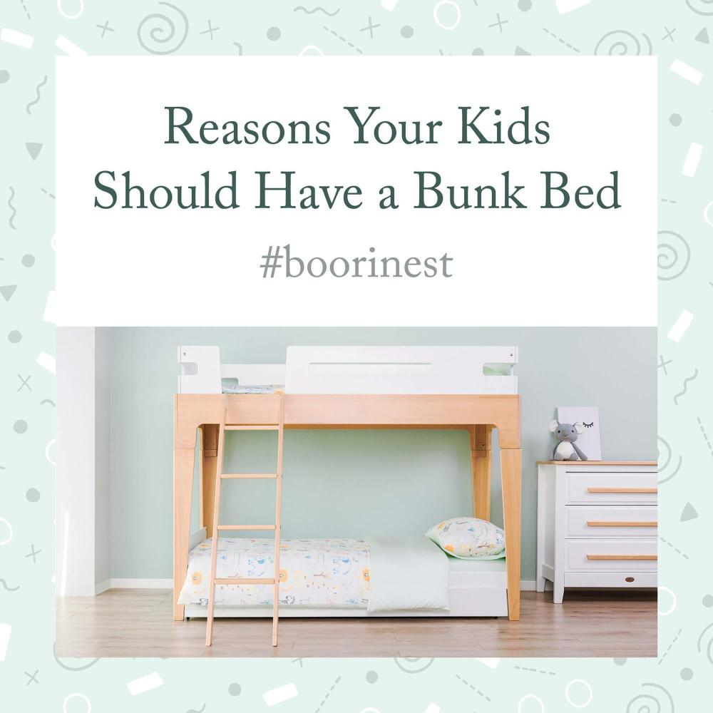 5 Reasons Why Your Kids Should Have a Bunk Bed