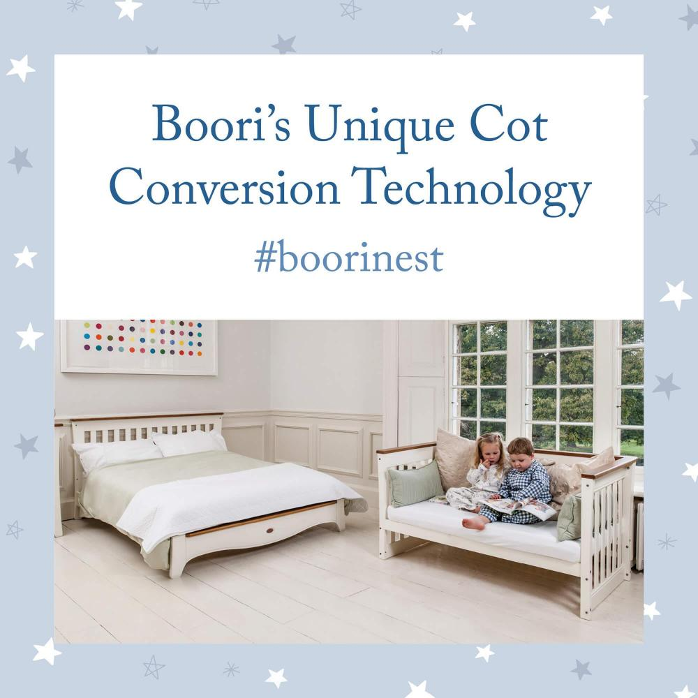 Boori's Unique Cot Conversion Technology