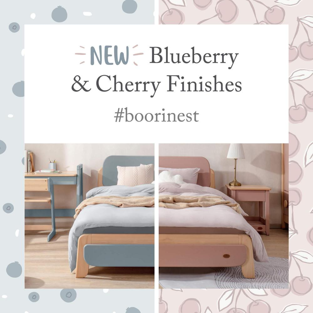 Introducing Our New Blueberry and Cherry Finishes