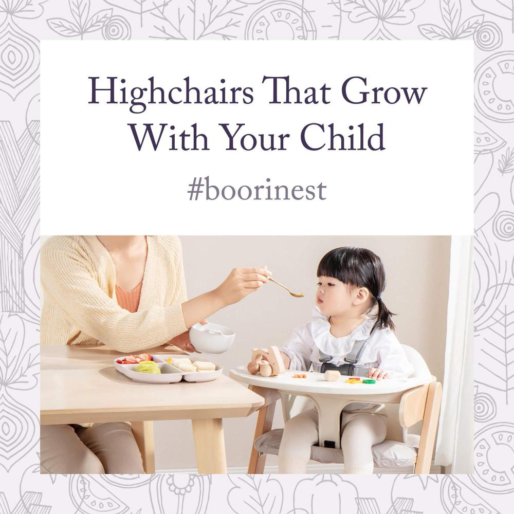Highchairs that Grow with Your Child