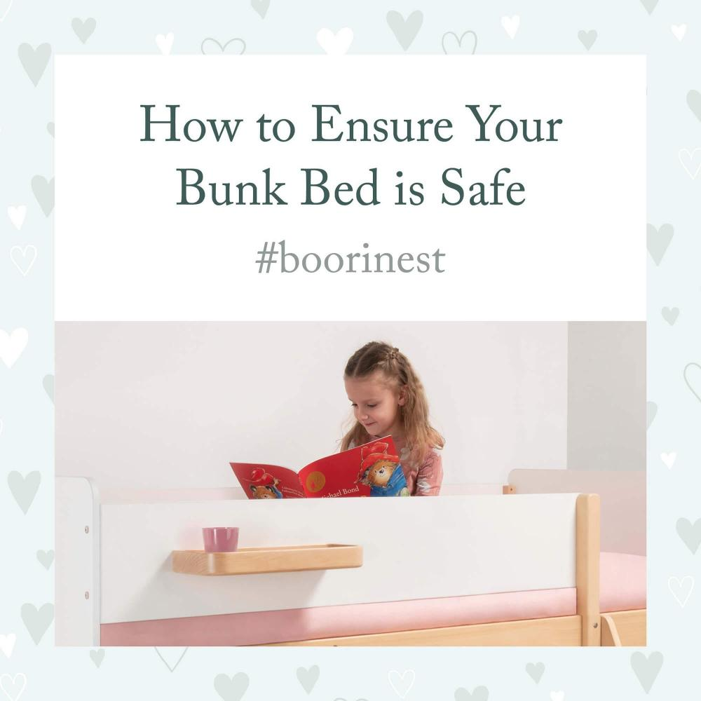 How to Ensure Your Bunk Bed is Safe