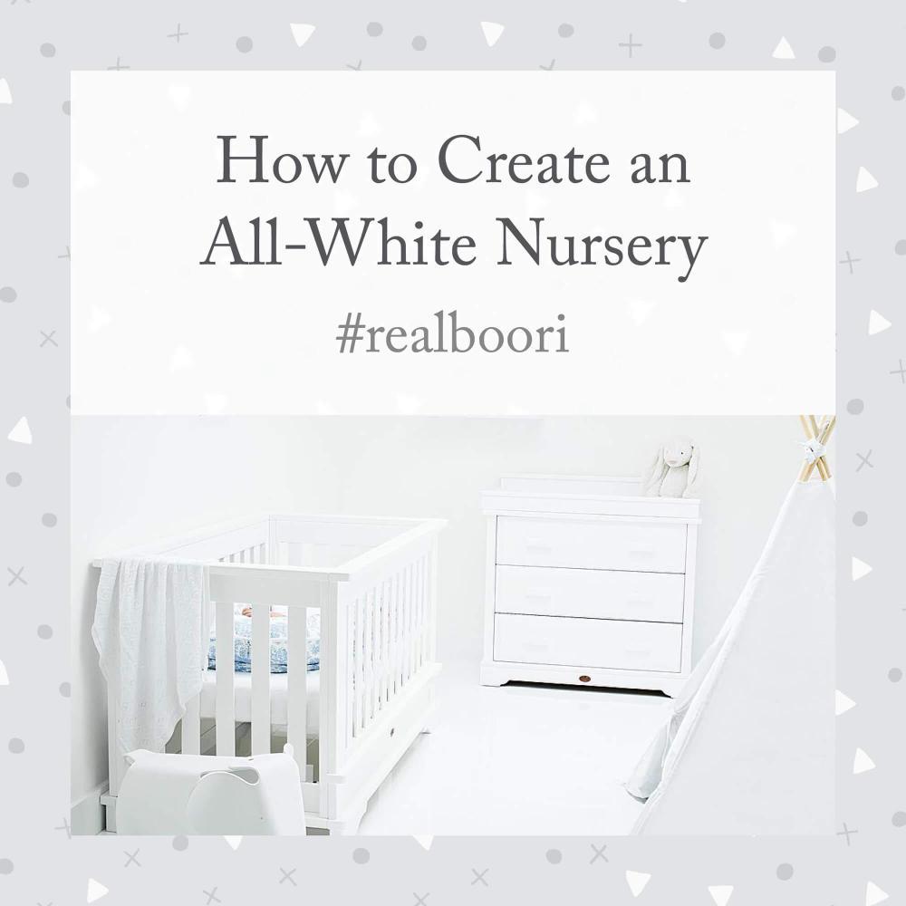 White Nursery Ideas with Harlen