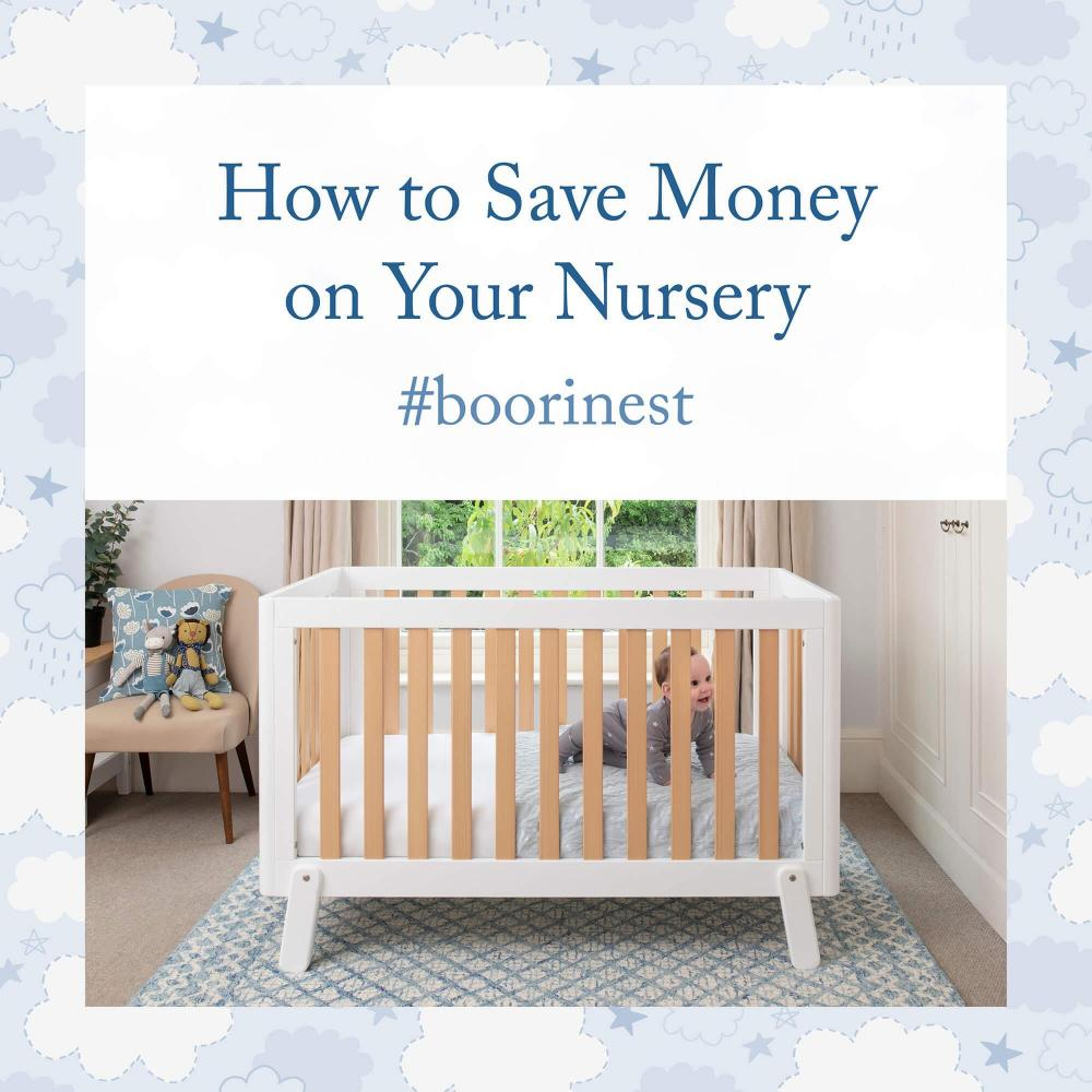 How to Save Money on Your Baby's Nursery