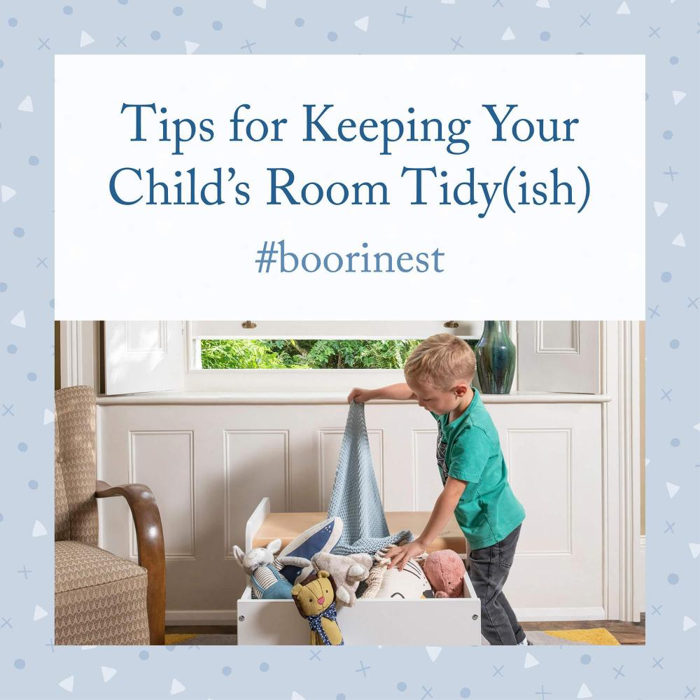 Tips for Keeping Your Child's Room Tidy(ish)