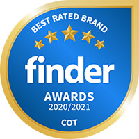 Finder_Awards_2020_2021_Best_Brand_Cots_Category