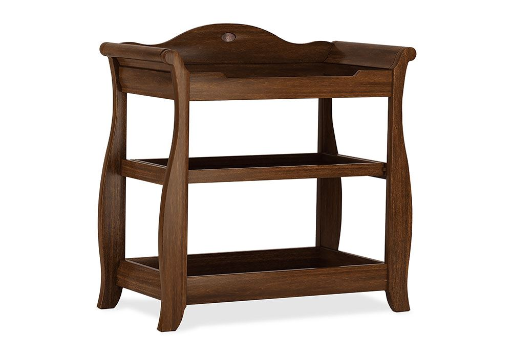 Sleigh 3 Tier changer - English Oak