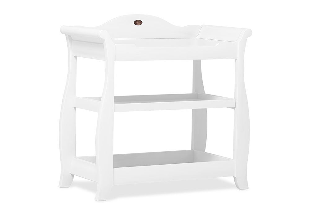 Sleigh 3 Tier changer - White