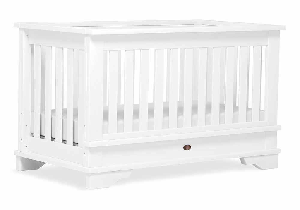 Eton Convertible Plus Cot bed - White