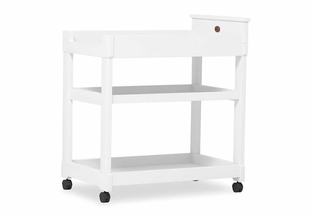 Squared 3 Tier changer - White
