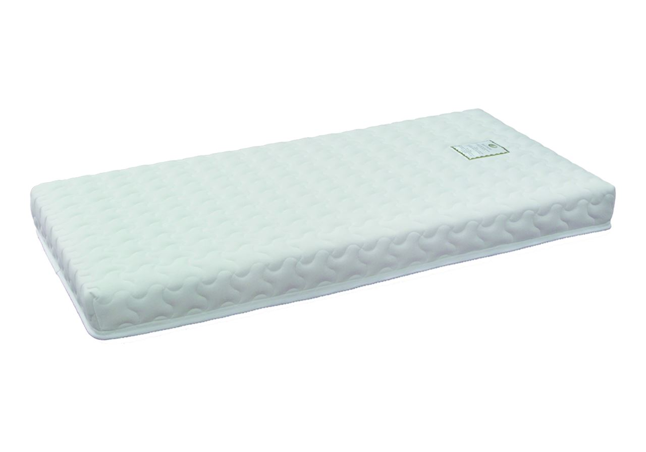 Latex mattress 132 x 70 x 14cm (for convertible cot beds)