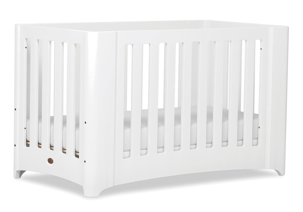 Dawn Expandable Cot bed - White