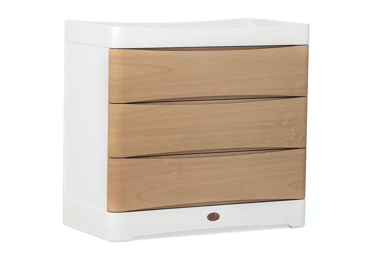 Dawn 3 Drawer dresser - Beech and White
