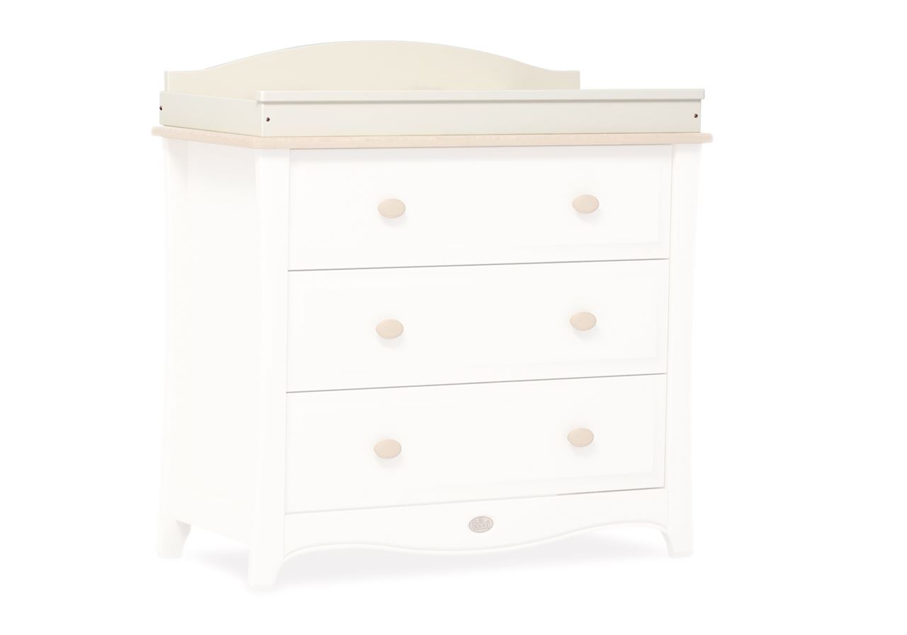Bell Curved Changing station - Ivory