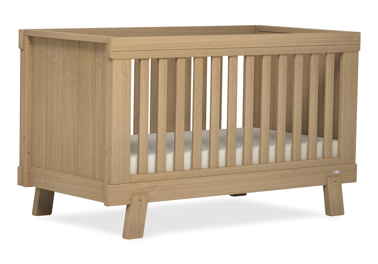 Lucia Convertible Plus Cot bed - Almond