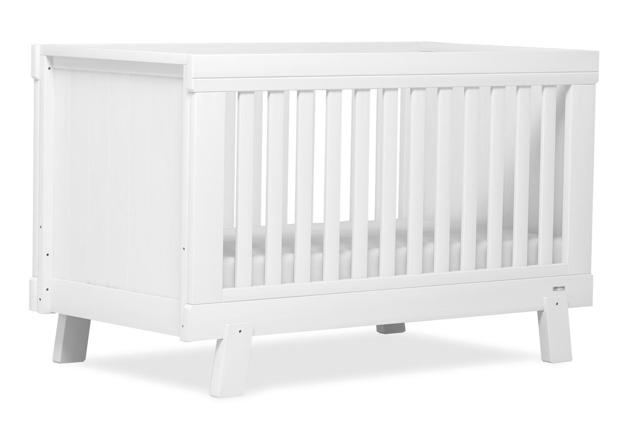 Lucia Convertible Plus Cot bed - White