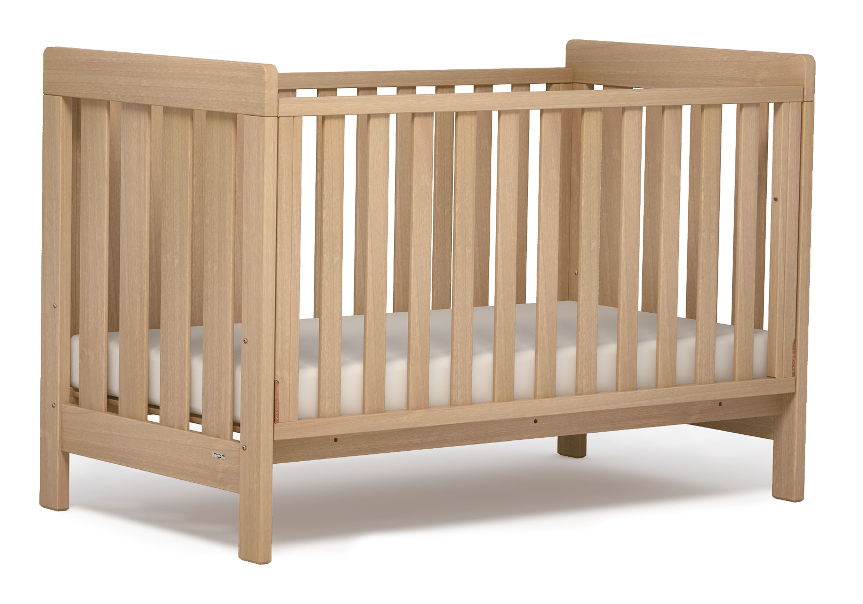 Daintree Cot bed (Dropside) - Almond