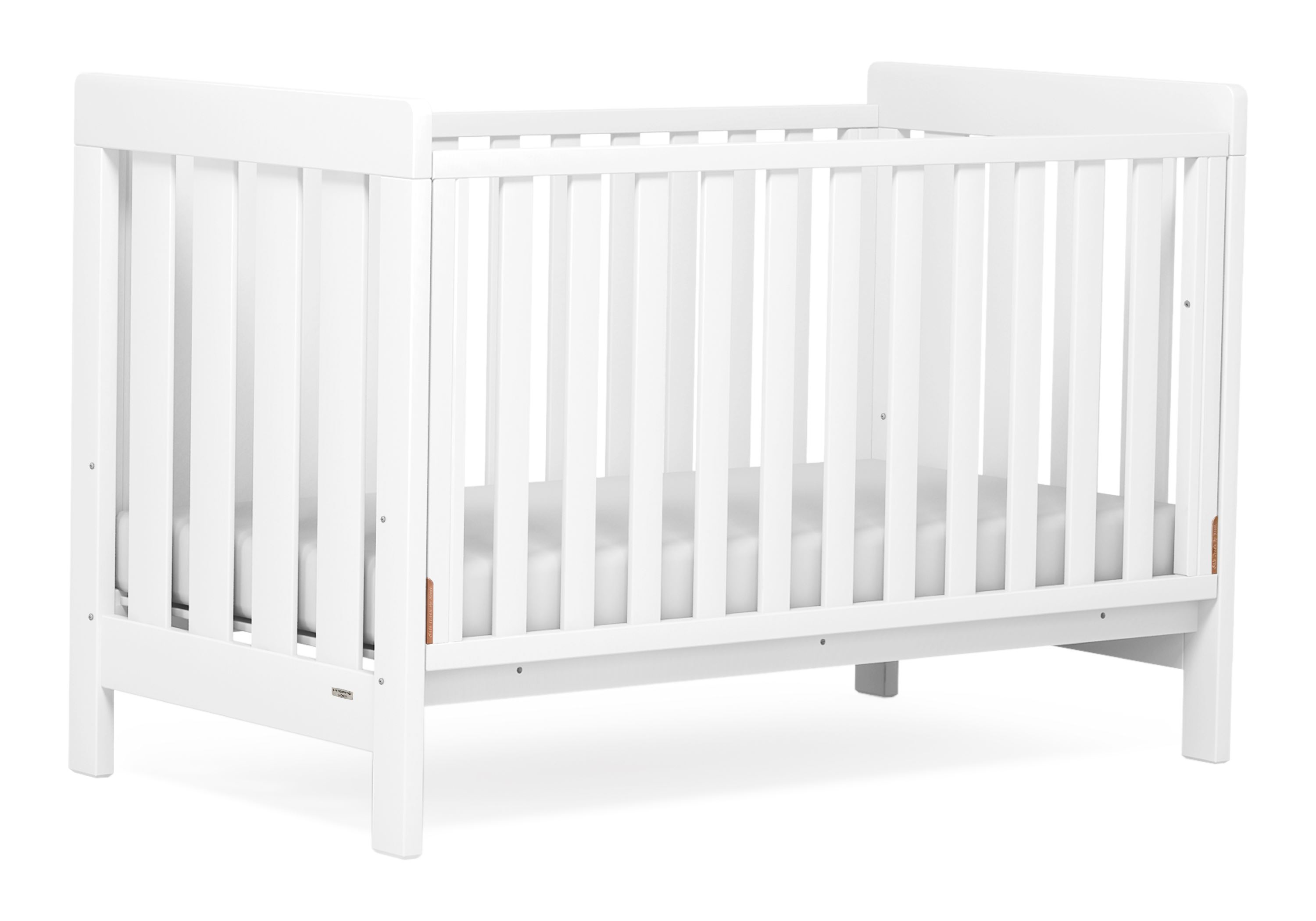 Daintree Cot bed (Dropside) - White