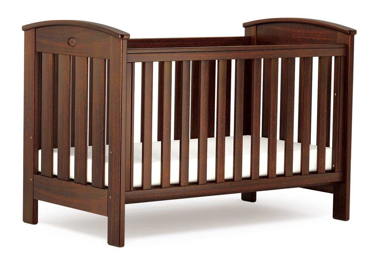 Classic Cot bed (Dropside) - English Oak
