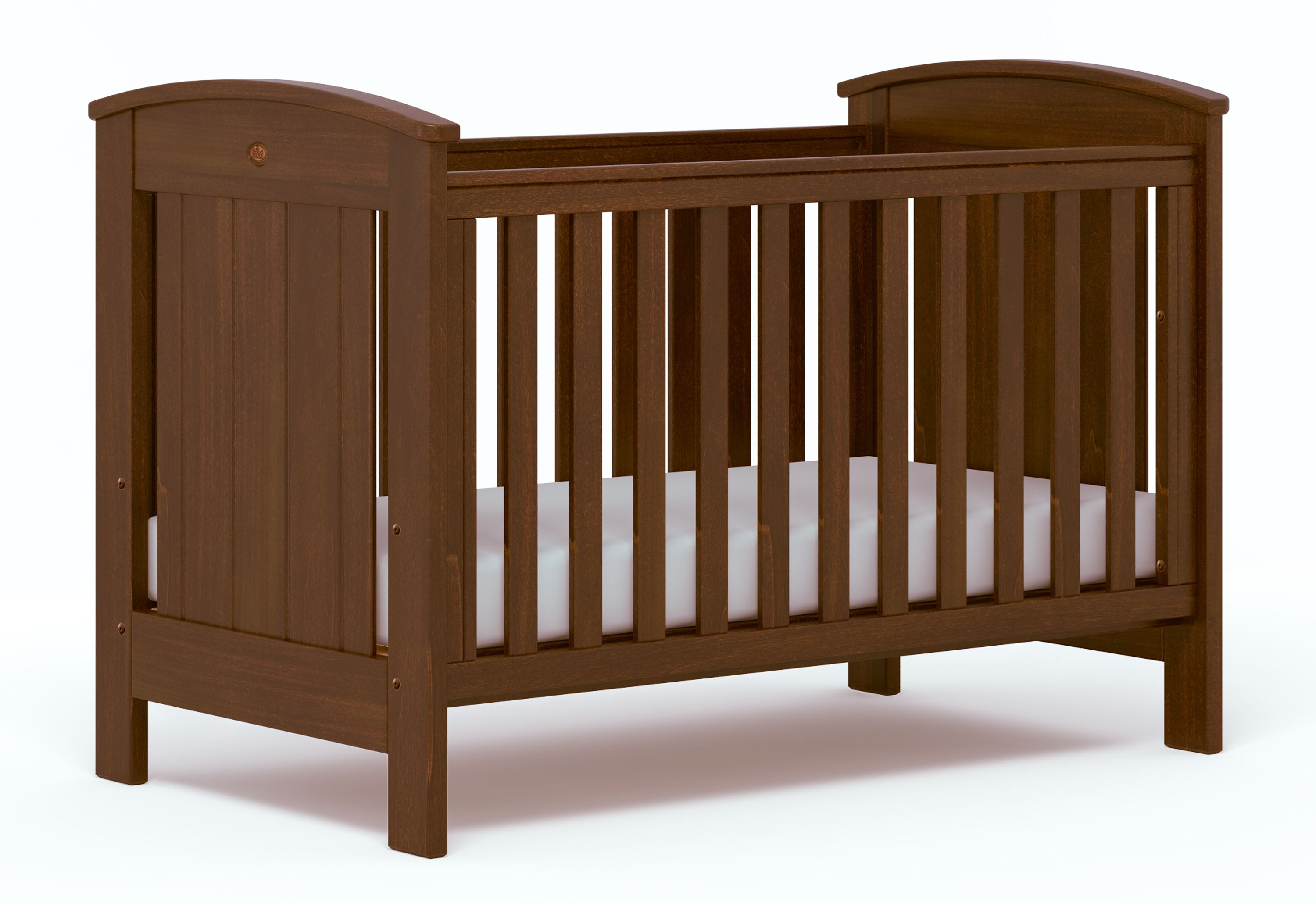 Casa Cot bed (Dropside) - English Oak
