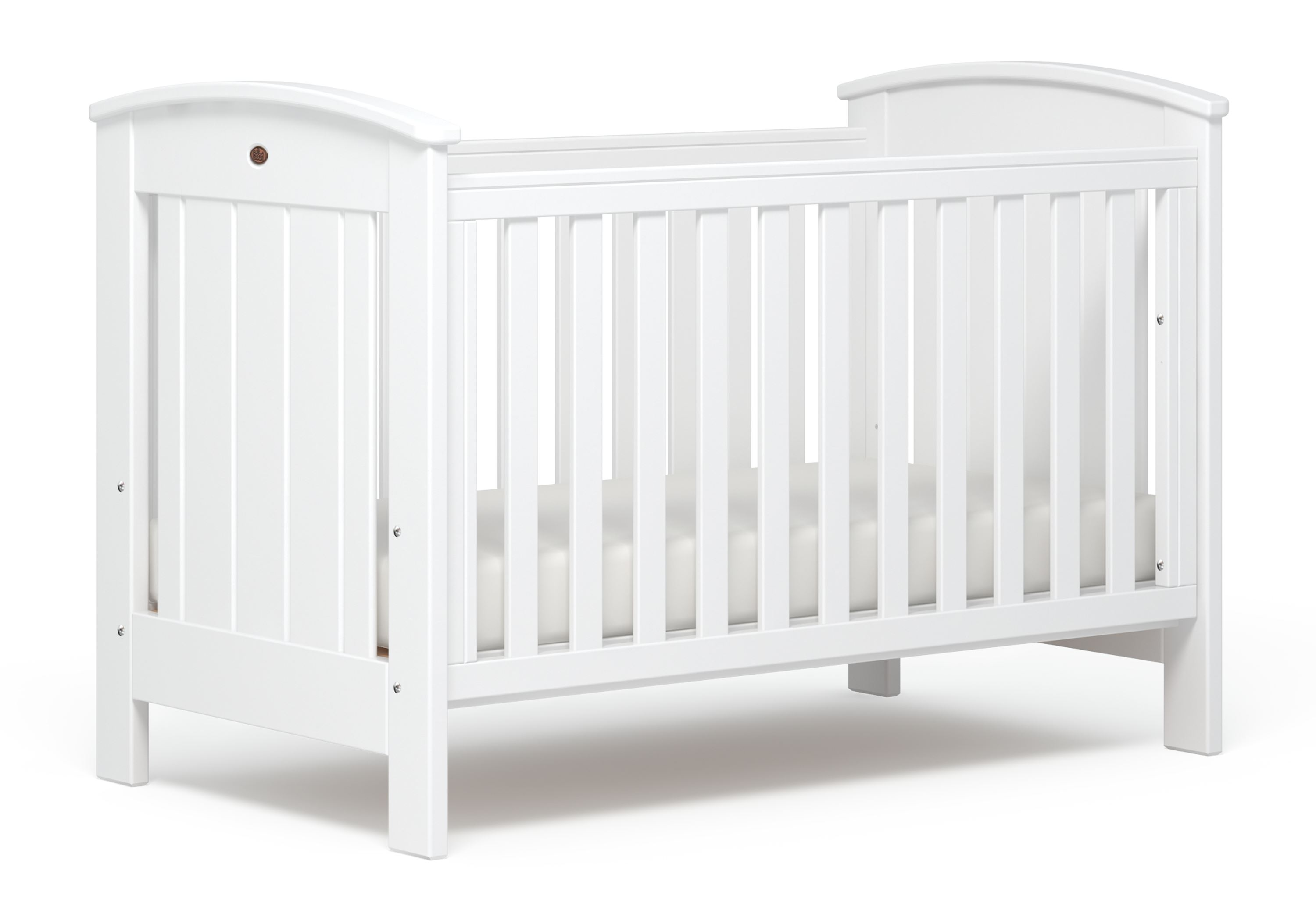 Casa Cot bed (Dropside) - White
