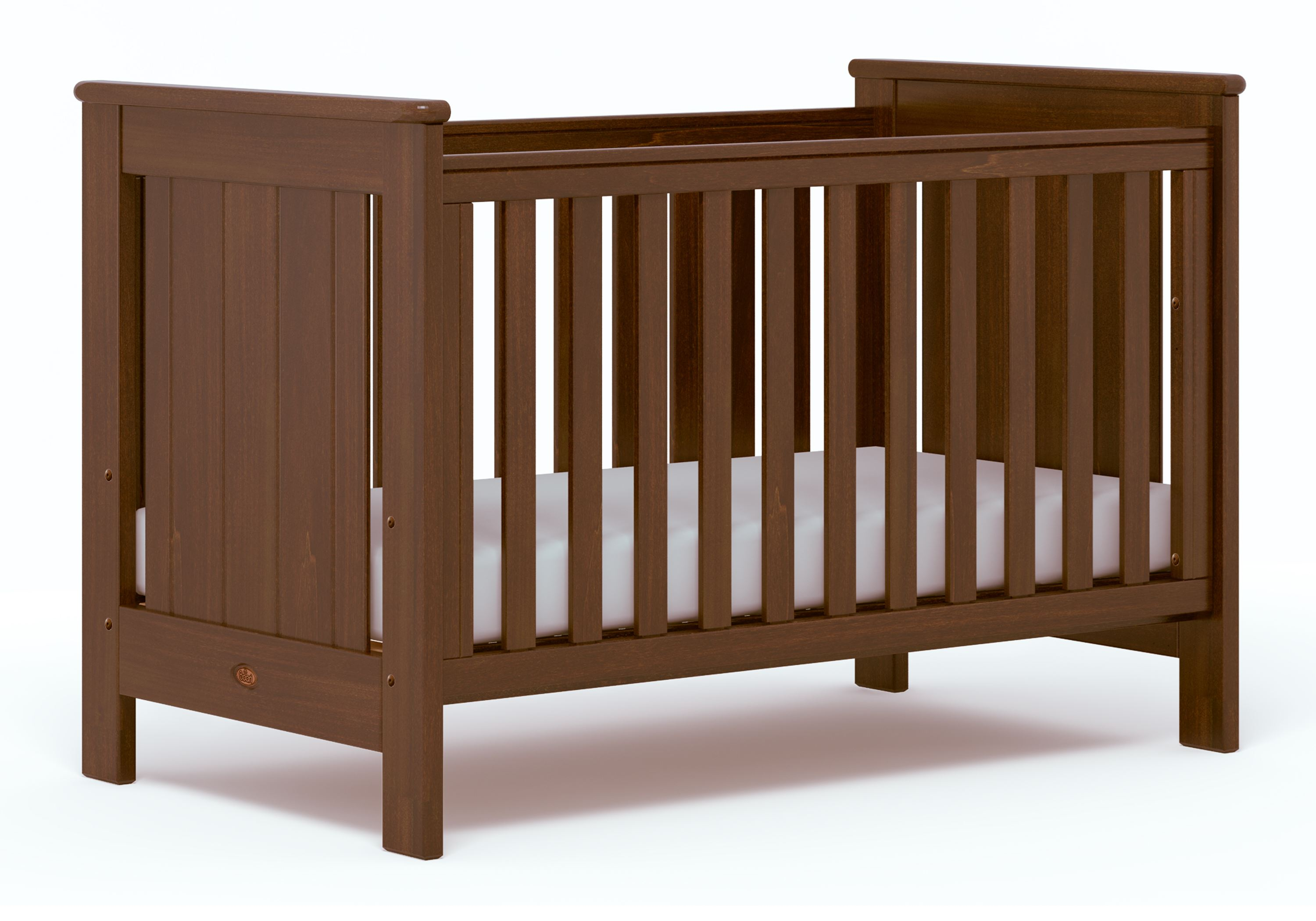 Plaza Cot bed (Dropside) - English Oak