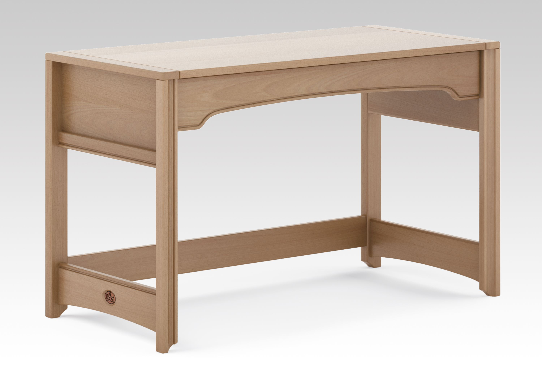 Sleigh Desk - Truffle