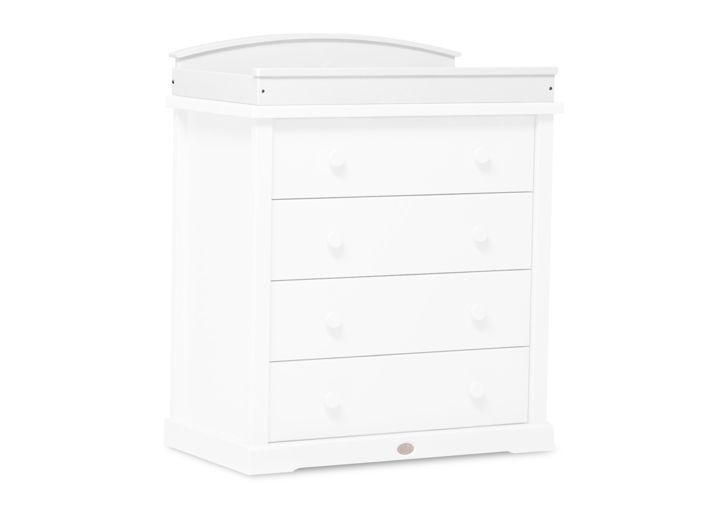 Arched Change tray (for 3 & 4 Drawer chests) - White