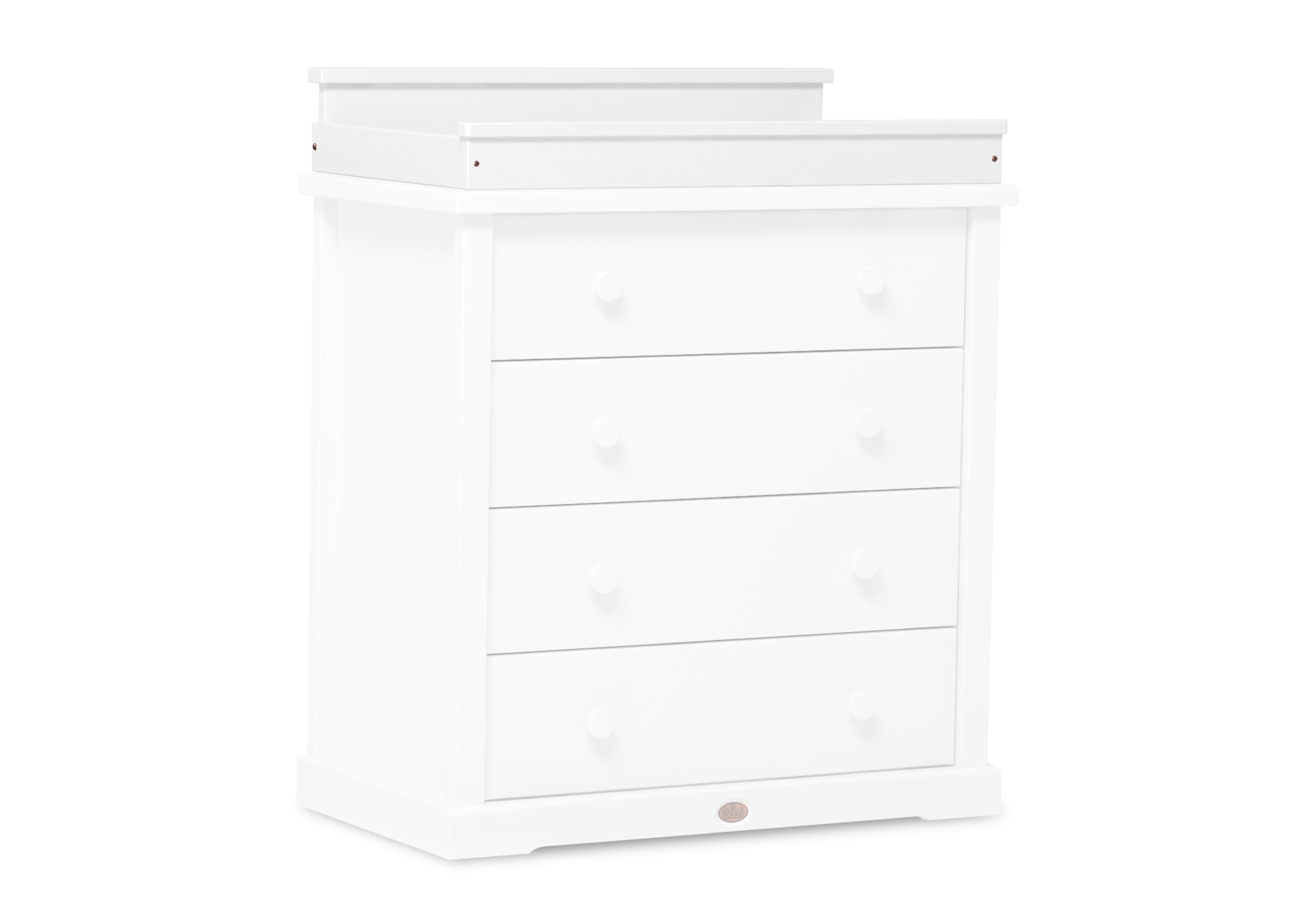 Squared Change tray (for 3 & 4 Drawer chests) - White