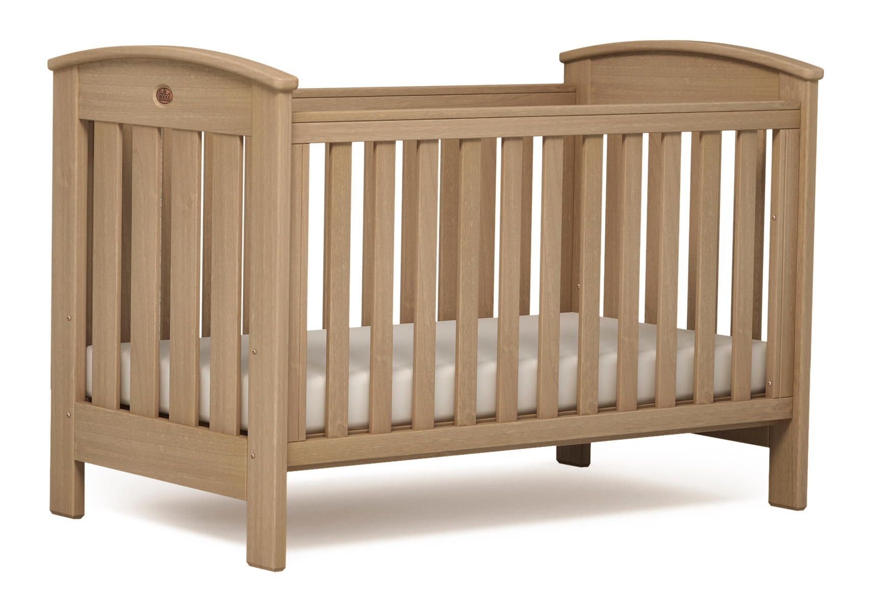 Classic Cot bed (Dropside) – Almond