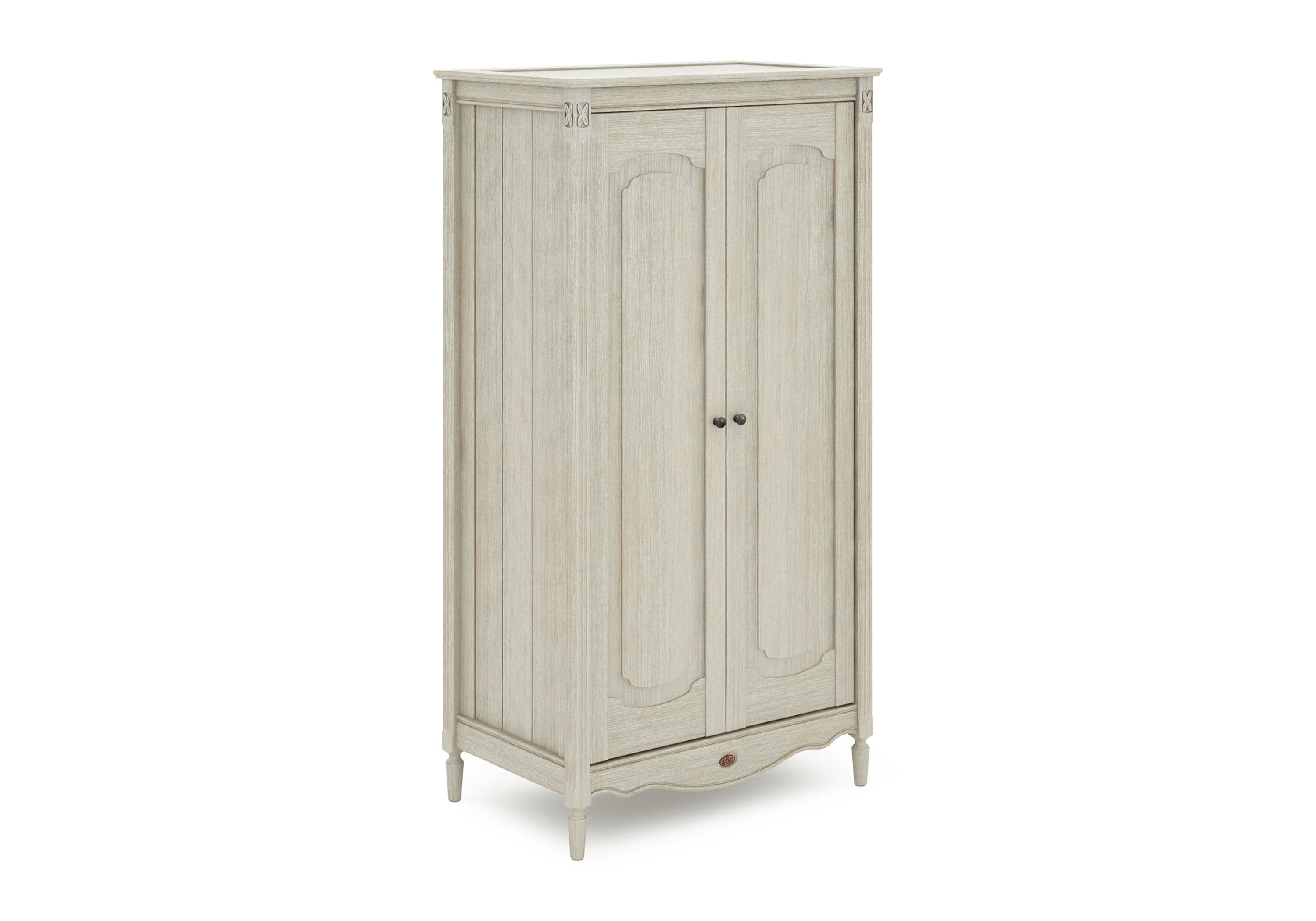 Grace Wardrobe - Antiqued Grey