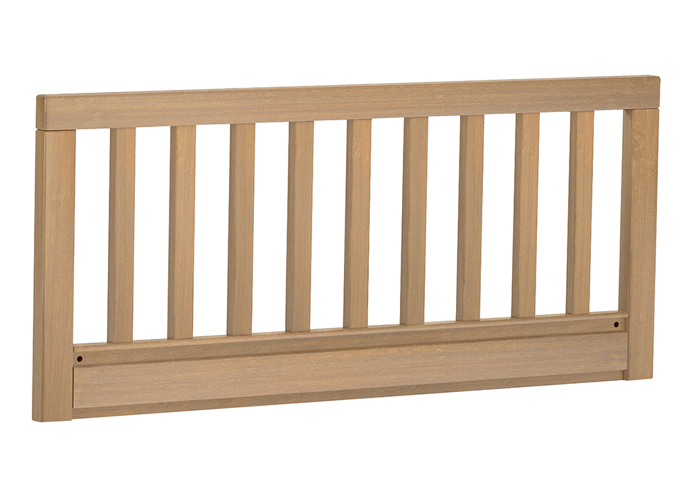 Toddler Guard Rail (for Convertible Plus Cot beds) - Almond