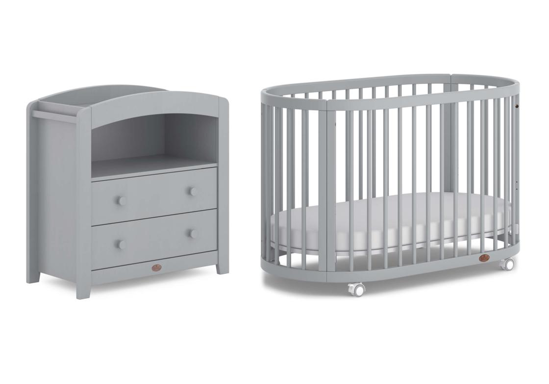 Oasis Cot 2 Piece Nursery Room Set