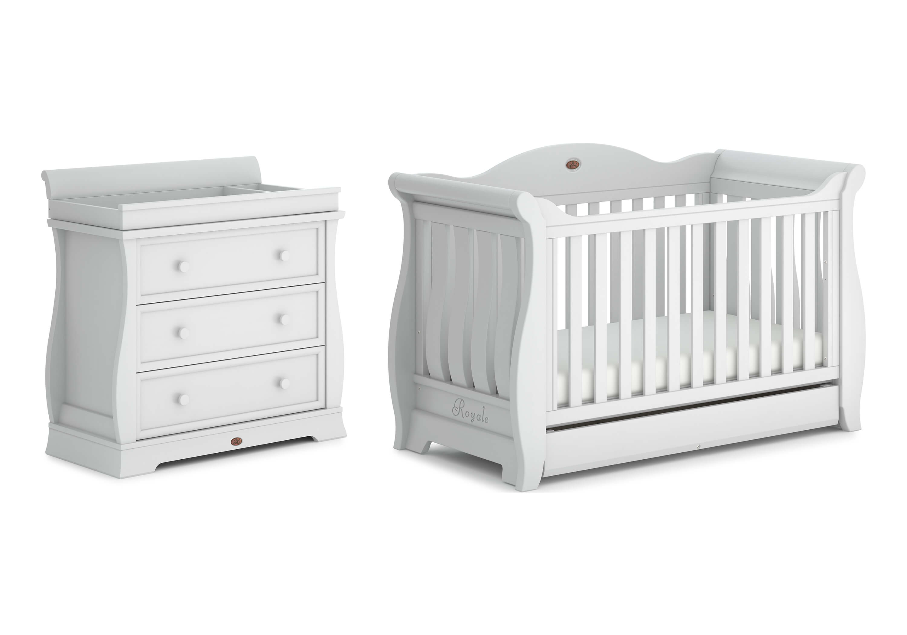 Sleigh Royale 2 Piece Room Set With