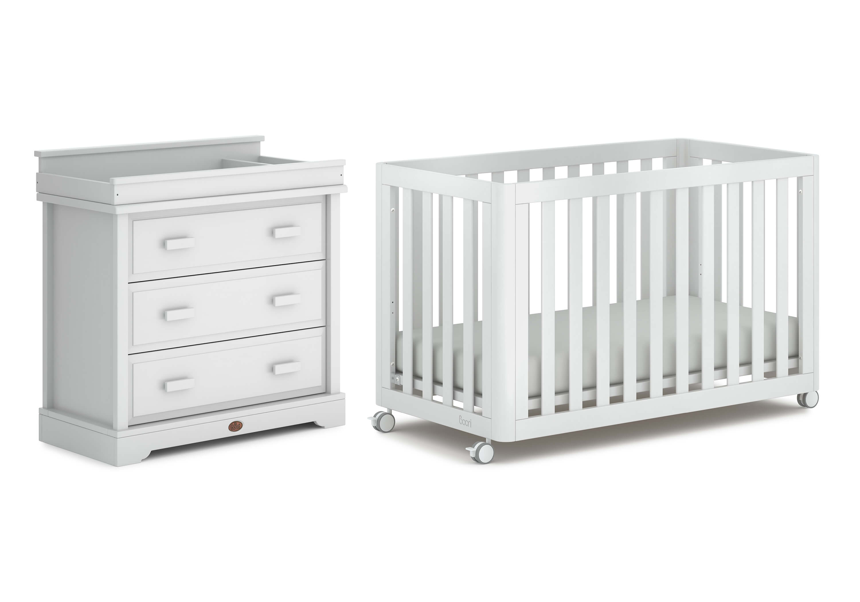 Turin 2 Piece Room Set With 3 Drawer