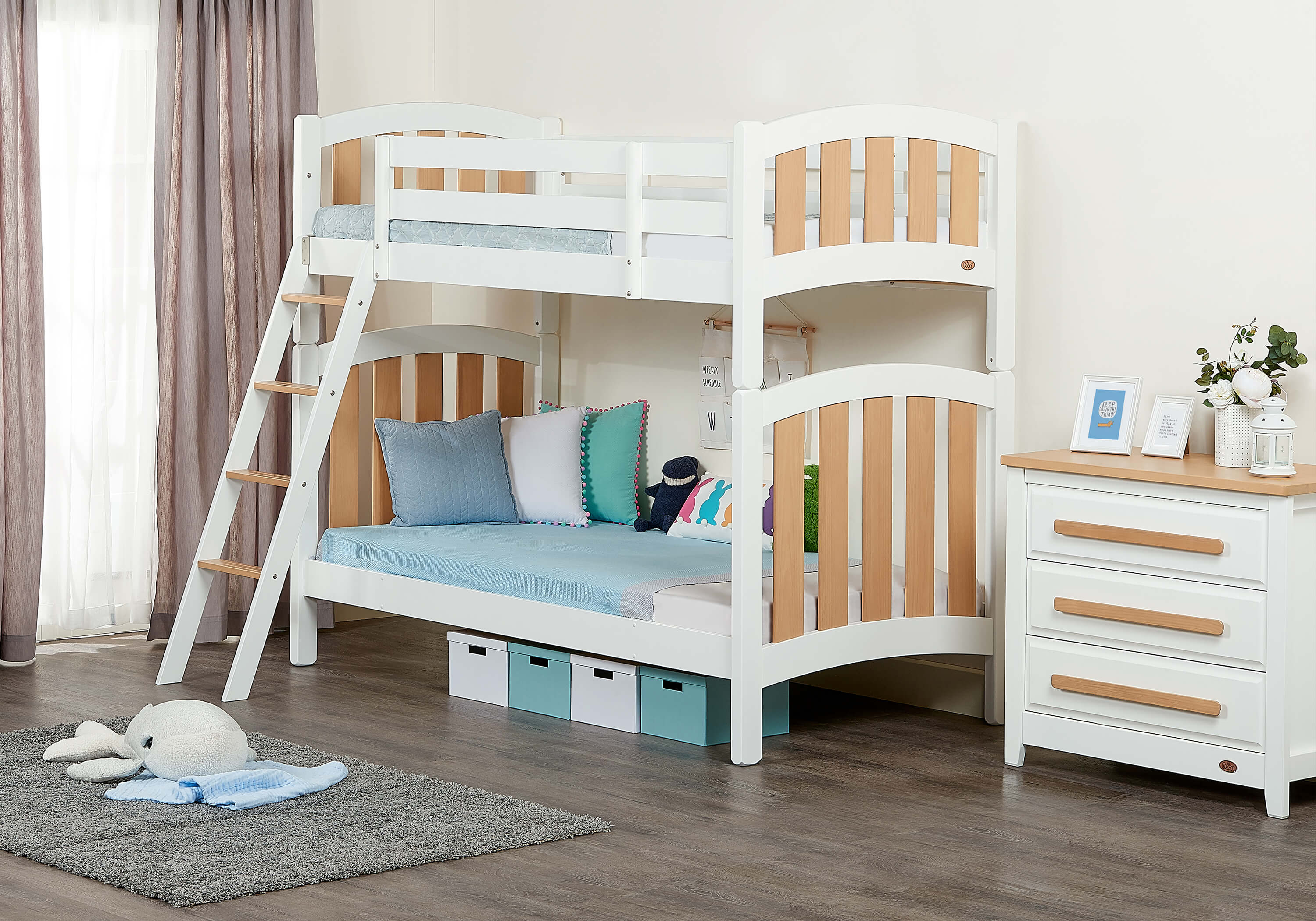 Picture of: Milano King Single Bunk Bed Boori