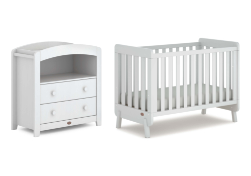 Harbour 2 Piece Nursery Furniture Set (with Chest Changer)