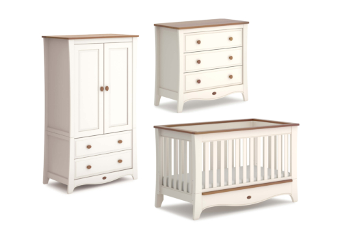 Provence Convertible Plus 3 Piece Nursery Furniture Set (with Chest)