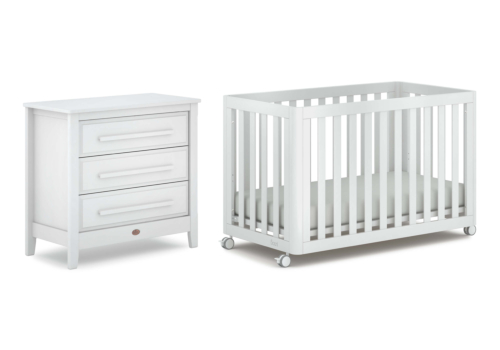 Turin 2 Piece Nursery Furniture Set (with Chest)