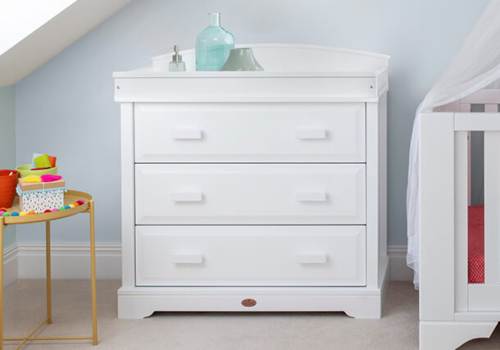 3 Drawer Dresser (with Arched Changing Station)