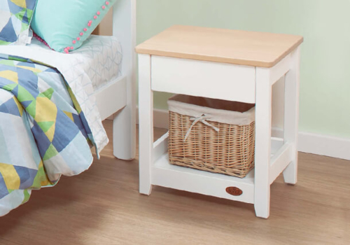 Linear Bedside Table