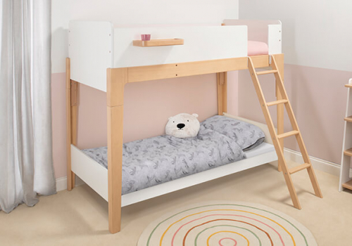 Natty Single Bunk Bed (Pre-order for Late June Delivery)