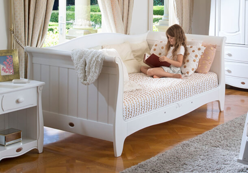 Sleigh King Single Day Bed
