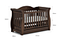 Sleigh Royale Cot Bed