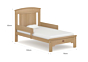 Casa Toddler Bed