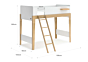 Natty Single Bunk Bed (Pre-order for Late October)